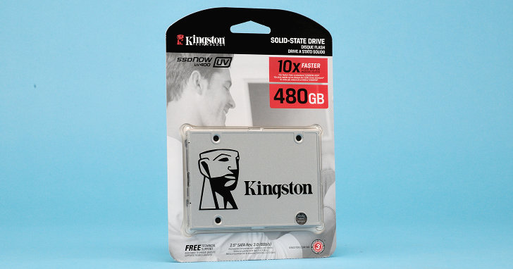 Marvell 控制器搭 TLC 顆粒,Kingston SSDNow UV400 固態硬碟實測