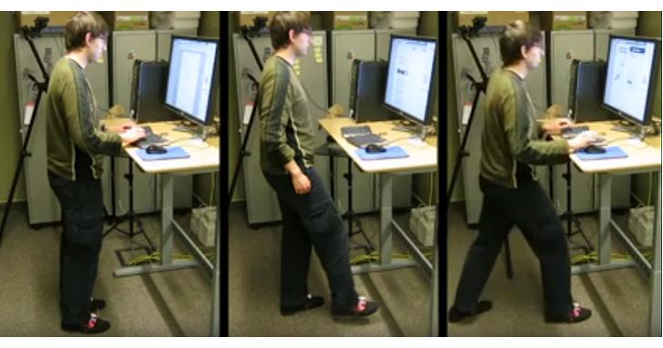 站著工作還不夠健康:給你一個腳用滑鼠,請用舞步做一份 PPT 給我