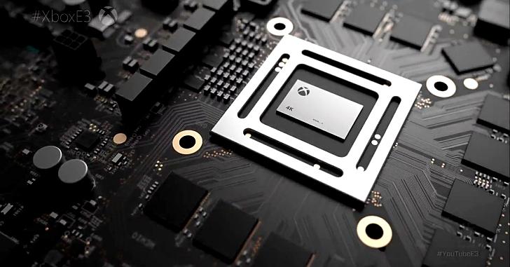 下一代 XBox 有譜?微軟發佈「天蠍計畫」4K、VR 遊戲無煩惱