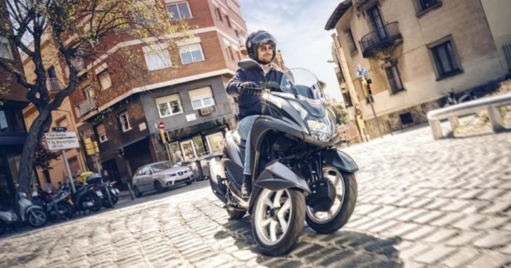 「三輪機車」上高速公路正夯! YAMAHA Tricity 155 搶攻歐洲市場