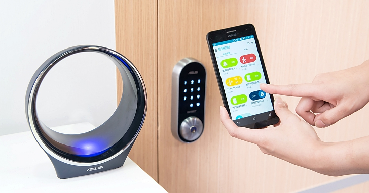 ASUS 智慧家庭上市,涵蓋門鎖、插座、警報器、感應器等,不同品牌家電也可用