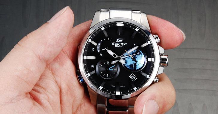 完美詮釋科技與時尚融合的極致:CASIO EDIFICE EQB-600D!