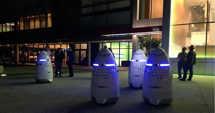 比起人類,美國的科技公司更想用這個蛋型機器人擔任保全工作