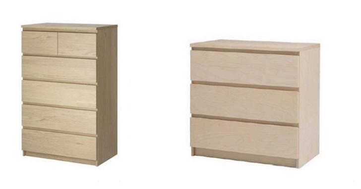 IKEA部分家具抽屜櫃有傷人疑慮,經濟部標檢局表示消費者可要求退回、全額退款