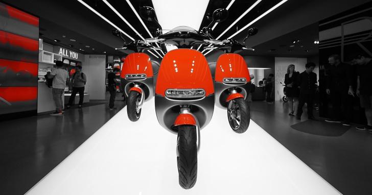 Gogoro 紅色新款火熱上市,暑期學生購車 0 頭款 0 利率