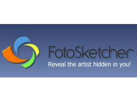 瞬間化身素描、油畫家:FotoSketcher