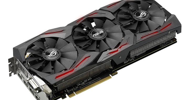 華碩 ROG 推出新款電競顯示卡 STRIX GeForce GTX 1060