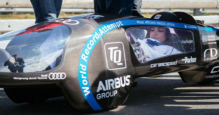 世界上最有效率的電動車,1度電可以跑 1232km