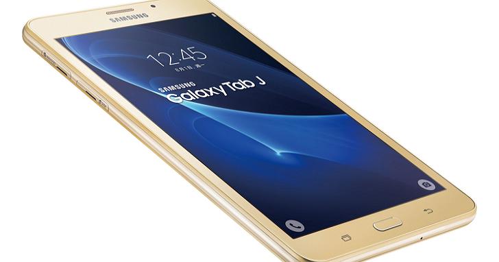 三星推出7吋通話平板Galaxy Tab J,內建 F1.9超大光圈相機