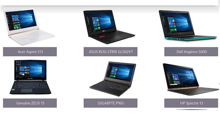 微軟聯合宏碁/華碩/戴爾/捷元...等廠商於電腦應用展推出Windows 10推薦機種優惠方案