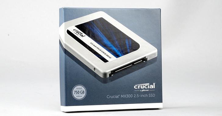 搭載 3D 架構 TLC 快閃記憶體,Crucial MX300 固態硬碟實測