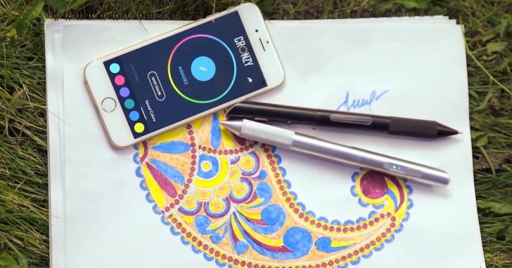 小學生的夢想,可以畫出1,600萬色的Cronzy魔幻彩色筆