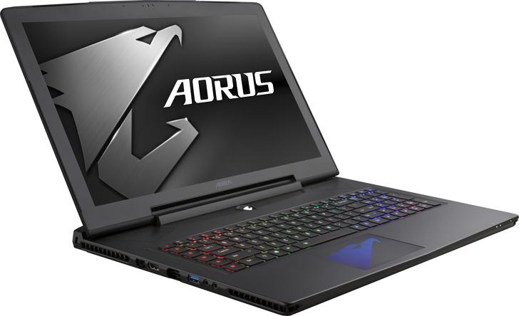 AORUS發表新一代電競筆電,搭載NVIDIA GeForce GTX 10系列獨顯