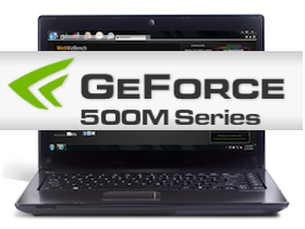 CES 2011:Sandy Bridge 良伴 NVIDIA GeForce 500M