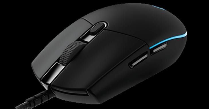 羅技推出電競滑鼠「PRO」Gaming Mouse,回歸經典圓潤外型