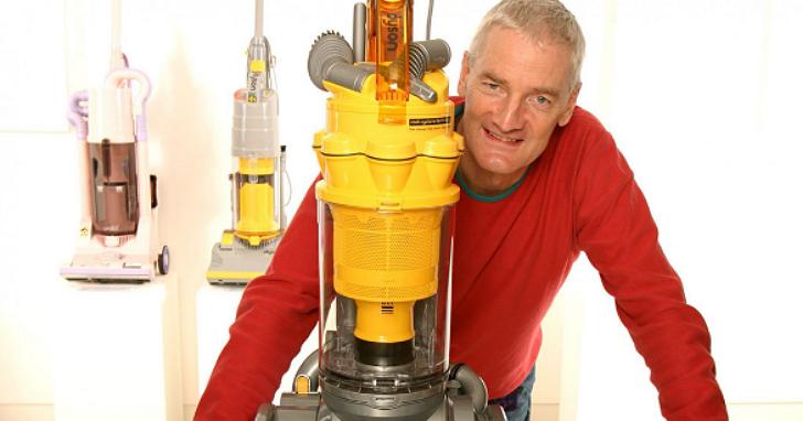 他是家電界的賈伯斯,要讓每個家庭主婦、少女都愛用他的吸塵器