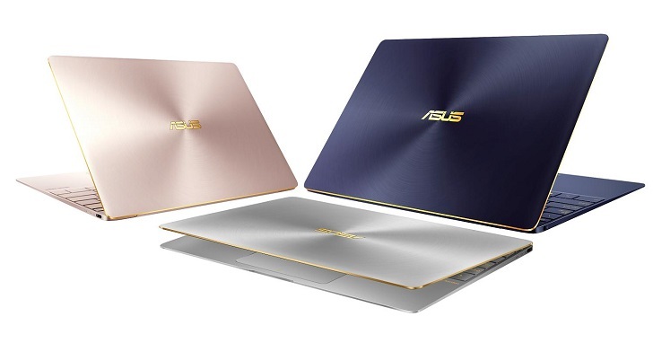 華碩發表搭載 Intel 第七代 Core 處理器的 ZenBook 3