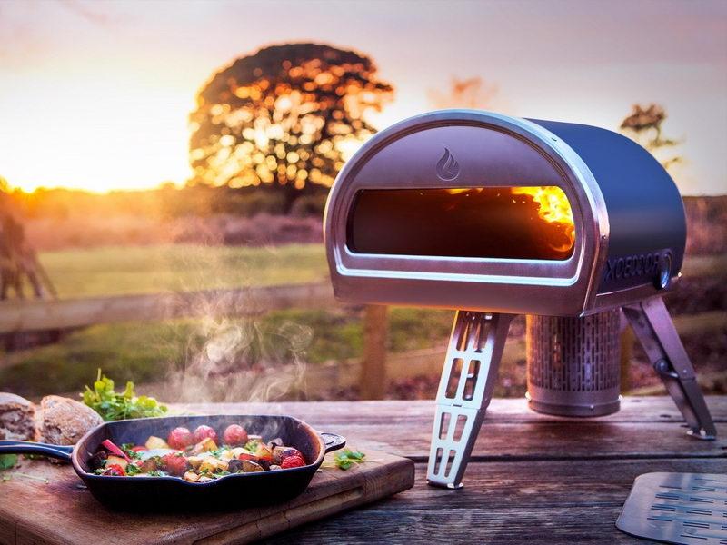 為講究美食的露營族設計:將「窯烤」帶著走,荒山野地吃披薩免叫外賣