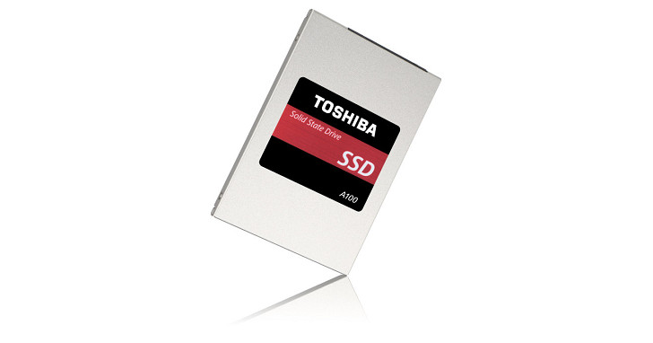 Toshiba 發布 A100 系列固態硬碟,換裝新控制器與 15nm 製程 TLC 顆粒