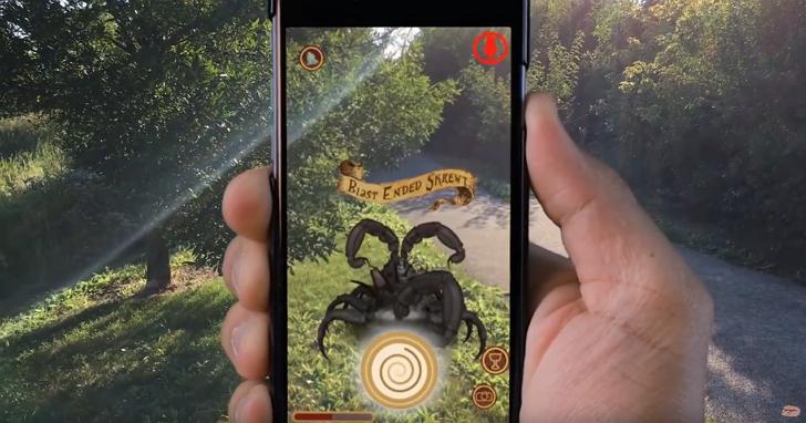 《Pokémon Go》姐妹版《哈利波特 GO》怎麼玩?粉絲Po出玩法影片