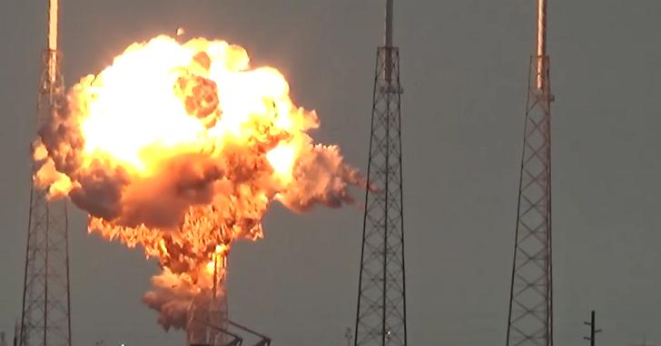 Space X火箭在發射台上爆炸,還摧毀了Facebook要給非洲用來上網的衛星