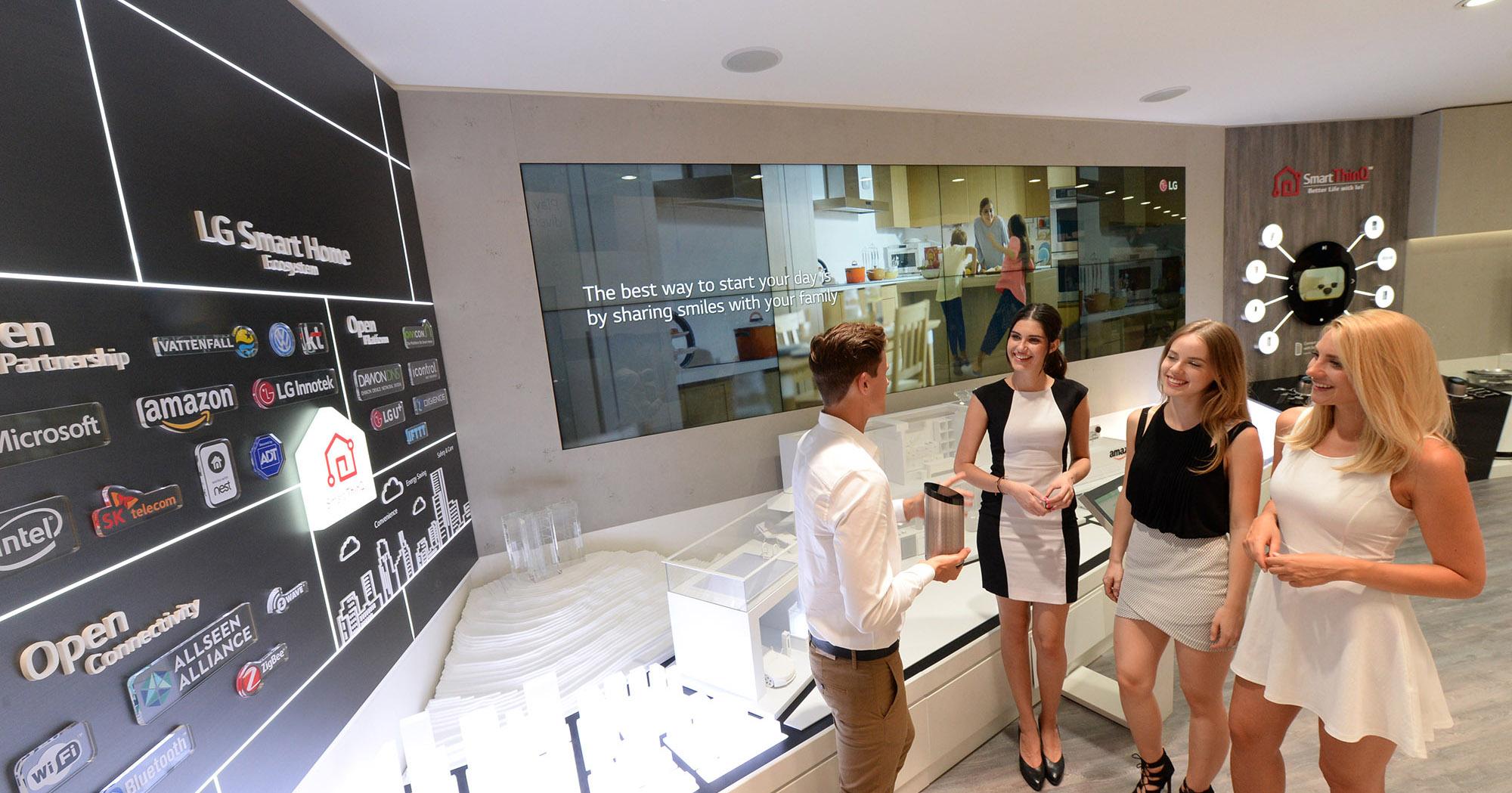 LG與Amazon合作智慧家居生態系統,僅憑聲音就能控制家電
