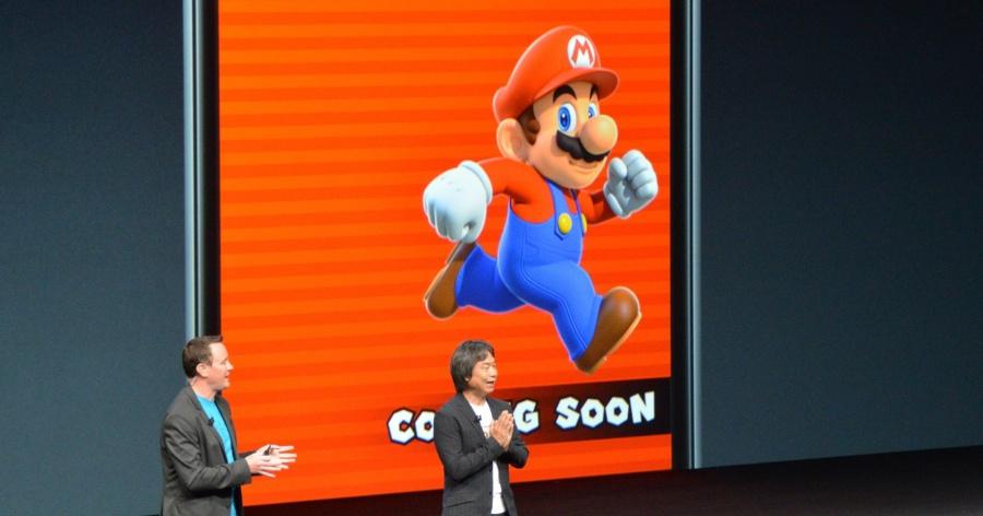 任天堂 宮本茂 現身iPhone發表會場,Super Mario Run 即將登陸 Apple store!