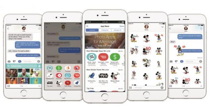 iOS 10 開放更新中,提供全新 iMessage 與通知中心
