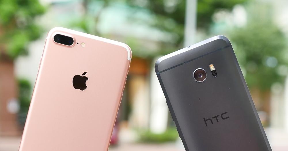 iPhone 7 Plus vs. HTC 10 日拍、夜拍比一比