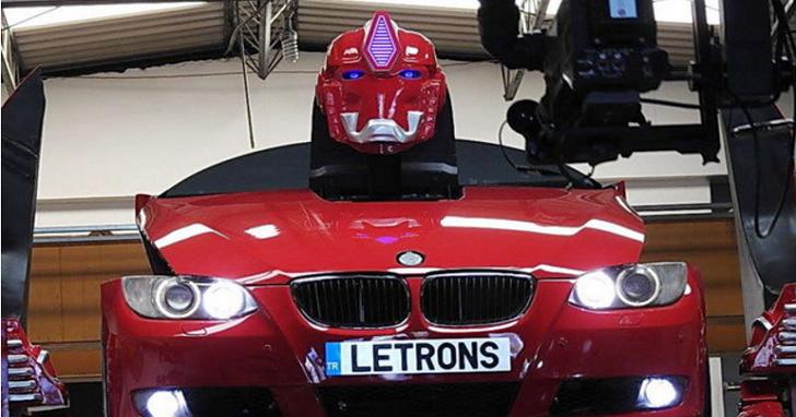 變形金剛「真實版」!土耳其「Letrons」讓BMW E93站起來「變身」
