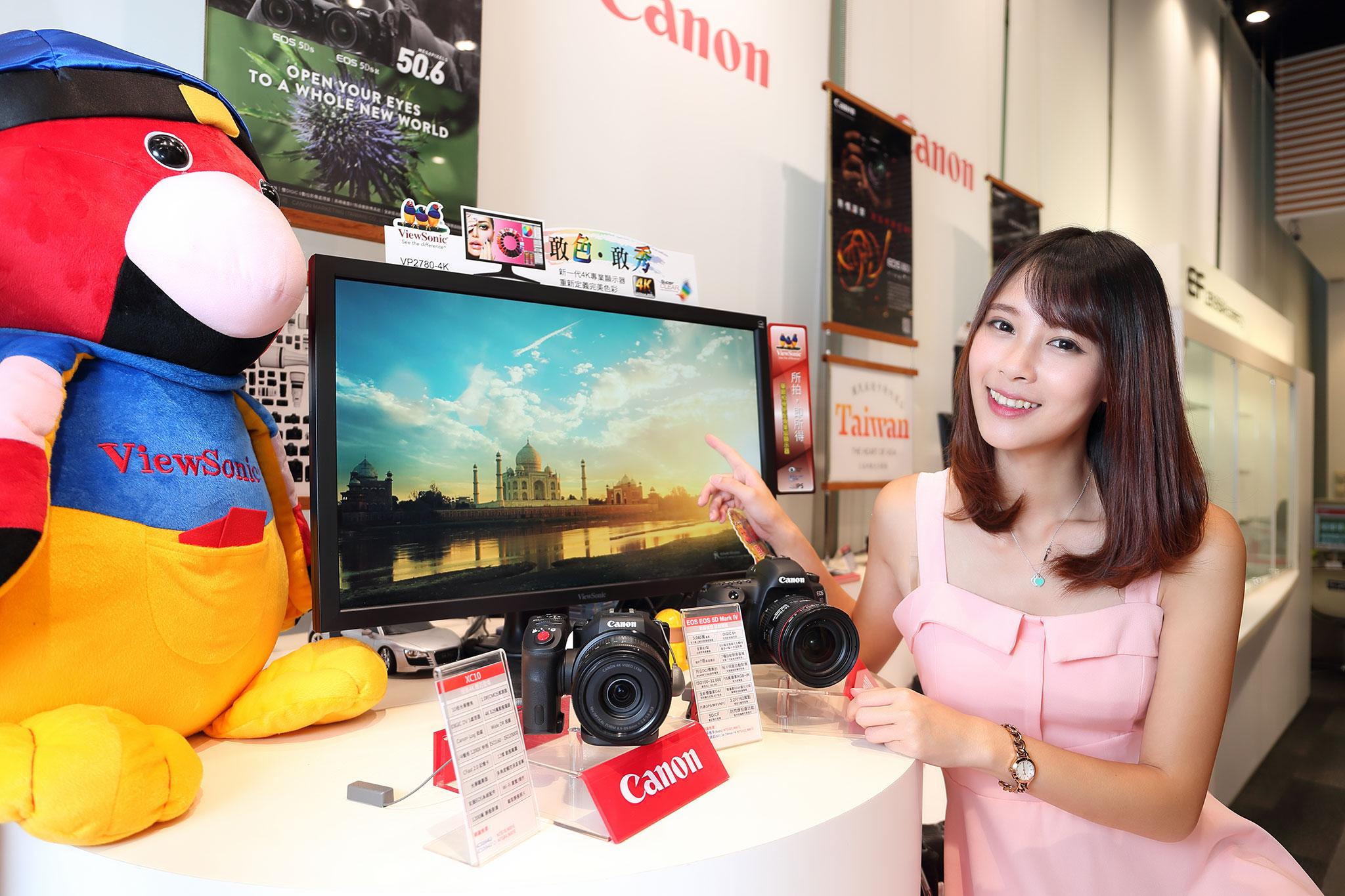 ViewSonic推出兩款Full HD、4K顯示器,符合99%以上sRGB色域,售價9,988元起
