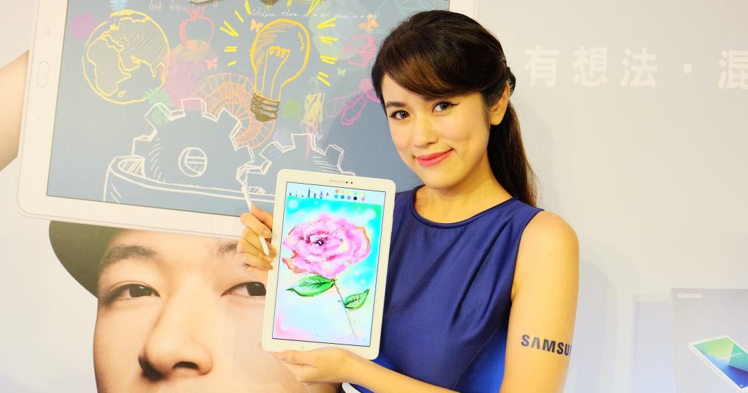 有 S Pen 的平板,三星推 Galaxy Tab A 10.1 吋繪圖大平板