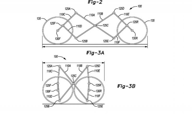 折疊腳踏車不稀奇,福特被人發現「伸縮摺疊汽車」專利