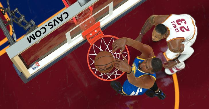 不只是遊戲!堪稱「模擬器」水準的《NBA 2K17》再次進化!更多新要素讓玩家耳目一新!