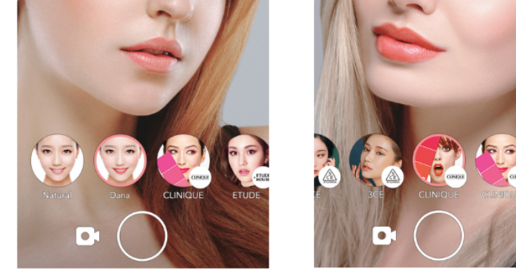 LINE推出全新相機APP「LOOKS」,讓你用專櫃美妝保養品當「濾鏡」