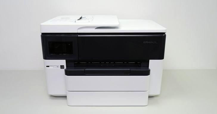 HP OfficeJet Pro 7740 評測:可支援 A3 尺寸的列印、掃描、影印複合事務機