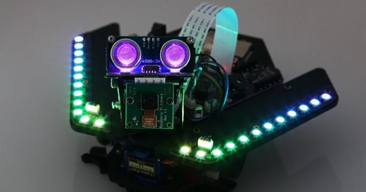 DIY迷你火星探測車,Spirit Rover讓你1次學會3種控制器
