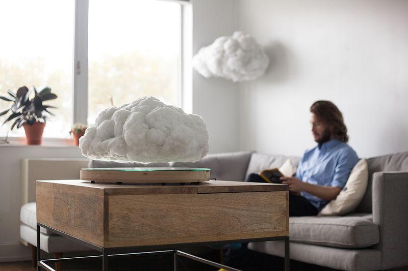 超療癒!不僅是一朵可以漂浮的雲,同時還是一台藍牙喇叭