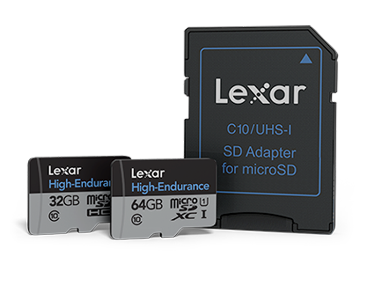 Lexar 推出全新的高耐用度 microSD UHS-I 記憶卡,  專為全天候視訊監控需求所打造
