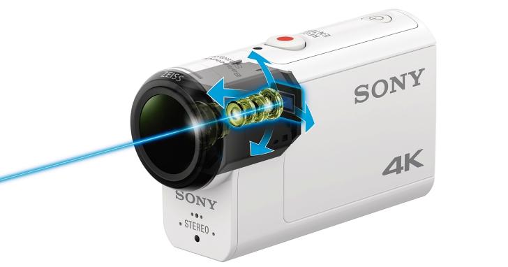 Sony 推出首款光學防震的運動攝影機 FDR-X3000/HDR-AS300