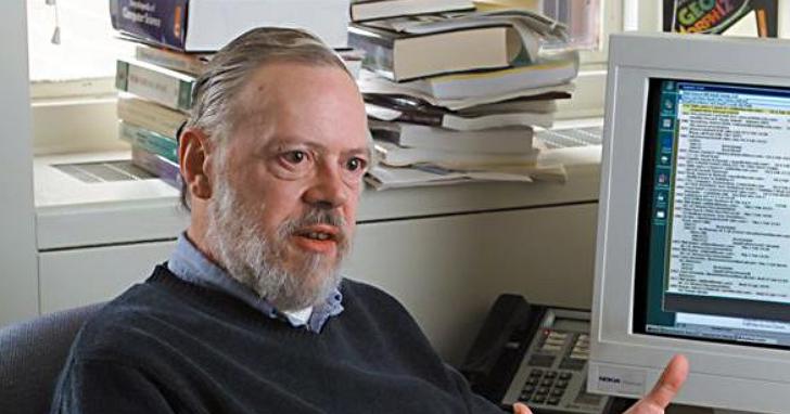 與賈伯斯同一年過世的C語言/UNIX之父Dennis Ritchie,昨天在Twitter上再死了一次