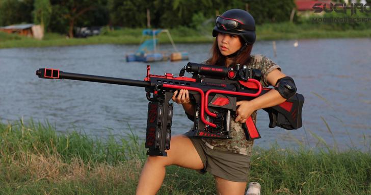 這不是一把槍,這是玩家打造的超狂電競桌機