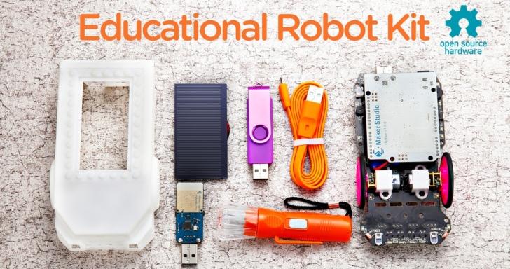 可無線編寫程式的Blinkgogo,從實作中學習機器人知識