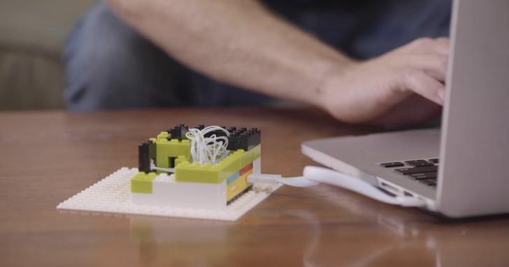 自己做樂高機器人,Itty Bitty City讓普通樂高積木變成開發套件