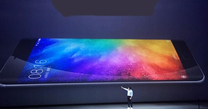 小米 Note 2 發表,5.7 吋雙曲面玻璃、高通 821、4070mAh 超大電量問世