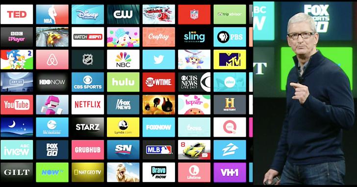 Apple TV 加入「TV」app,整合各串流影音還可以玩 Minecraft