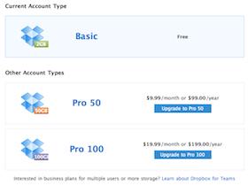 你的 Dropbox 有多大?