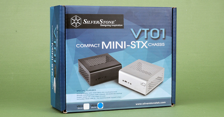 SilverStone VT01 機殼組裝試用,實現自組 Mini-STX 迷你電腦