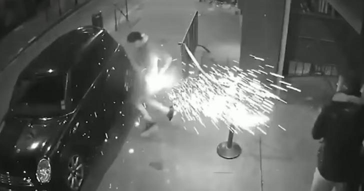 電子煙的電池安全嗎?法國街頭監視器錄下這則電子煙爆炸意外