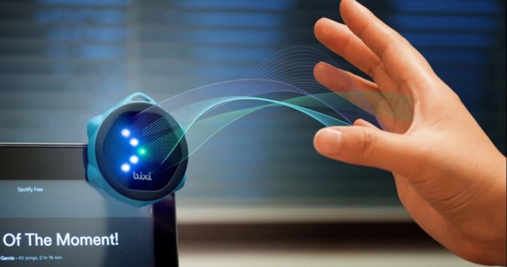 Bixi懸浮控制器,手機、平板都能用手勢控制